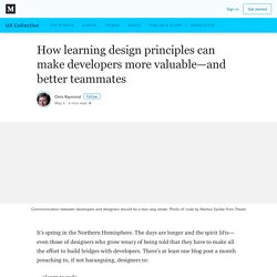 How learning design can make developers more valuable—and better teammates