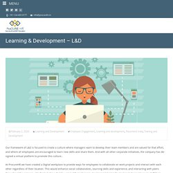 Learning & Development-L&D - Procure HR
