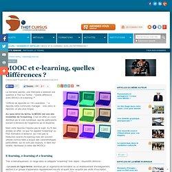 MOOC et e-learning, quelles différences ?