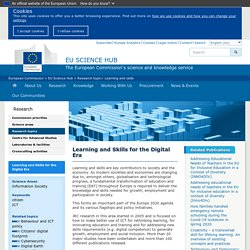 Learning and Skills for the Digital Era