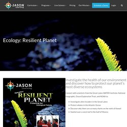 Ecology: Resilient Planet