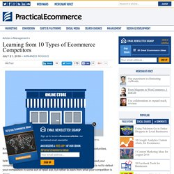 Learning from 10 Types of Ecommerce Competitors