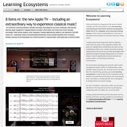 Learning Ecosystems