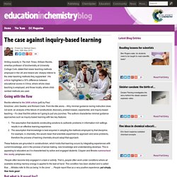 The case against inquiry-based learning