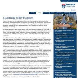 E-Learning Policy Manager