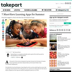 The 7 Best Educational Apps for Summer Learning