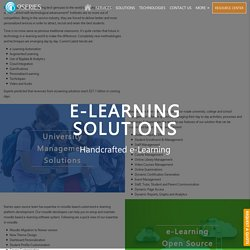 E Learning and Education Technology Company In India