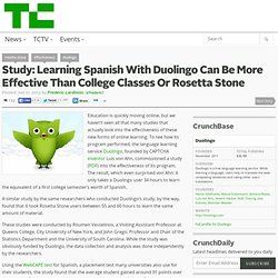 Study: Learning Spanish With Duolingo Can Be More Effective Than College Classes Or Rosetta Stone