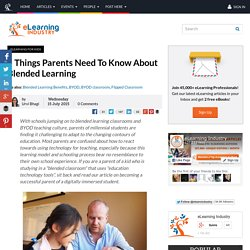 5 Things Parents Need To Know About Blended Learning
