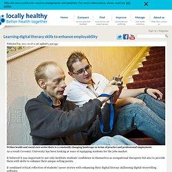 Learning digital literacy skills to enhance employability