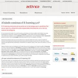 E-learning para empresas: ¿Cuándo comienza el E-learning 3.0? (White Paper)