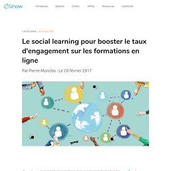 Le social learning pour booster l'engagement sur les formations en ligne