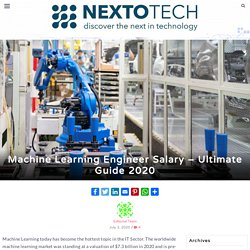 Machine Learning Engineer Salary - Ultimate Guide 2020