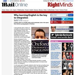 Why learning English is the key to integration