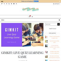 Gimkit: Live Quiz Learning Game