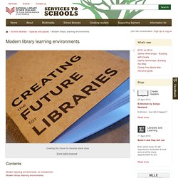 Modern library learning environments