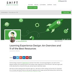 Learning Experience Design: An Overview and 11 of the Best Resources