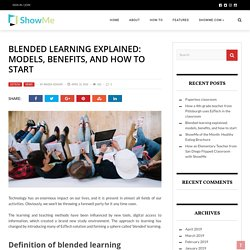 Blended learning explained: types, advantages, and how to start