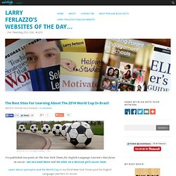 The Best Sites For Learning About The 2014 World Cup In Brazil