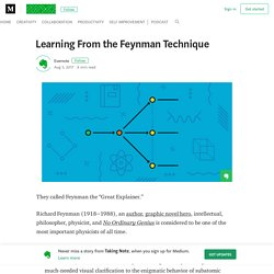 Learning From the Feynman Technique – Taking Note