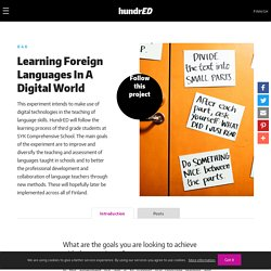 Learning Foreign Languages In A Digital World