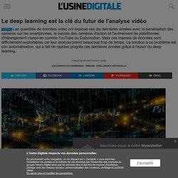 Le deep learning est la clé du futur de l'analyse vidéo