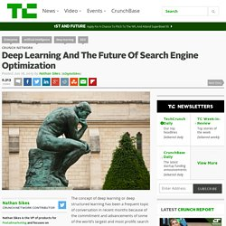 Deep Learning And The Future Of Search Engine Optimization