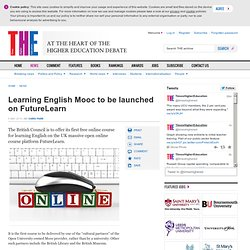 Learning English Mooc to be launched on FutureLearn