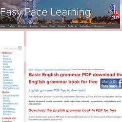 Learning basic grammar PDF book free download