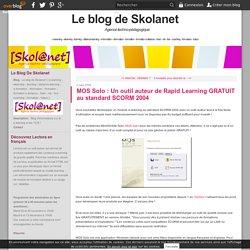 MOS Solo : Un outil auteur de Rapid Learning GRATUIT au standard SCORM 2004