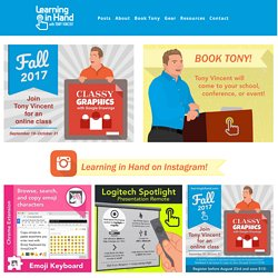 Tony Vincent's learninginhand.com