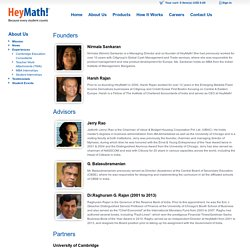 # 1 for Math E-Learning | HeyMath! | Because every student counts