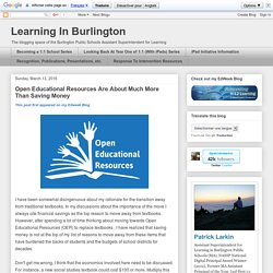 Learning In Burlington
