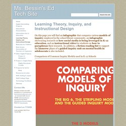 Learning Theory, Inquiry, and Instructional Design - Ms. Bessin's Ed Tech Site