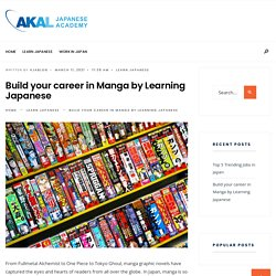 Build your career in Manga by Learning Japanese - Blog