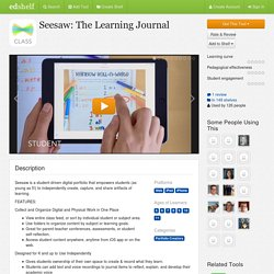 Seesaw: The Learning Journal Reviews