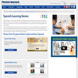 Free Spanish Language Learning Games | Pimsleur Approach&