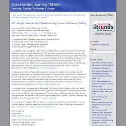 Elliott Masie's Learning TRENDS - Learning TRENDS - 625 - Google
