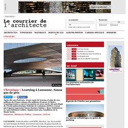 Learning à Lausanne, Sanaa pas de prix
