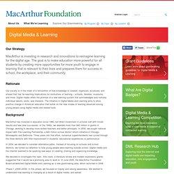 Digital Media & Learning Strategy