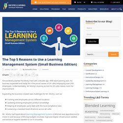 The Top 5 Reasons to Use a Learning Management System (Small Business Edition)