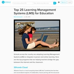 Top 25 Learning Management Systems (LMS) for Education