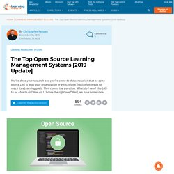The Top Open Source Learning Software