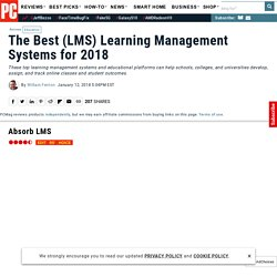 The Best LMS (Learning Management Systems) for 2016