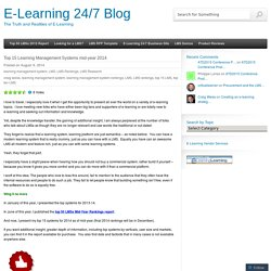 Top 15 Learning Management Systems mid-year 2014