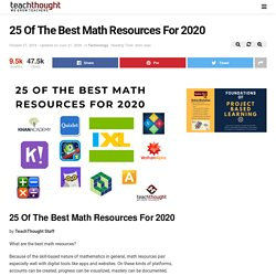 Learning Math? 25 Of The Best Math Resources For 2020