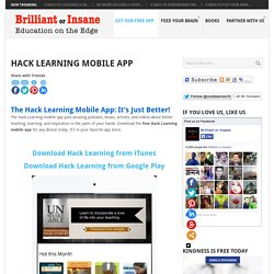 Hack Learning Mobile App
