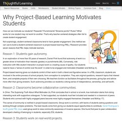 Why Project-Based Learning Motivates Students
