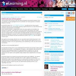 de Nederlandse e-learning portal > Onderzoek naar serious games?
