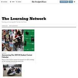 The Learning Network - The Learning Network Blog